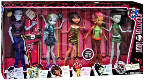 We Are Monster High Student Disembody Council Exclusive 10.5-Inch Doll 5-Pack