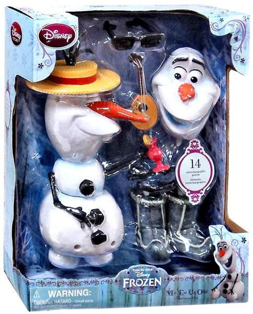 Disney Frozen Mix 'Em Up Olaf Exclusive 10.5-Inch Figure Playset