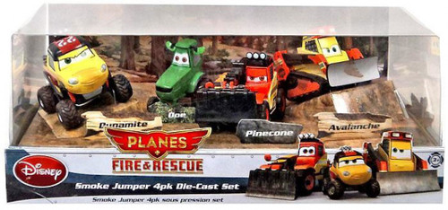 Disney Planes Fire & Rescue Smoke Jumper #2 Exclusive Diecast 4-Pack #2