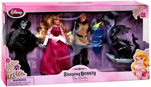 Disney Sleeping Beauty Mini Doll Set Exclusive 5-Inch Doll Set