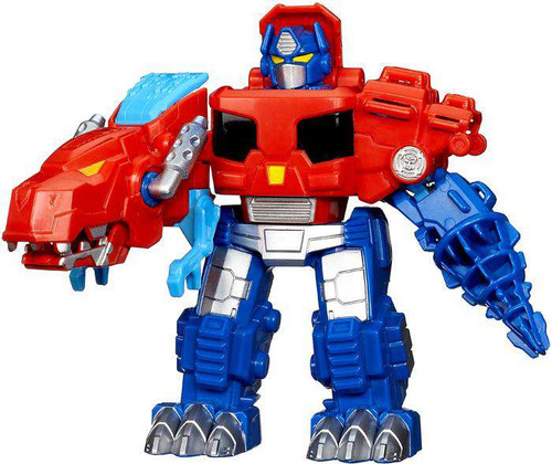Transformers Playskool Heroes Rescue Bots Optimus Prime Action Figure [Roar & Rescue]