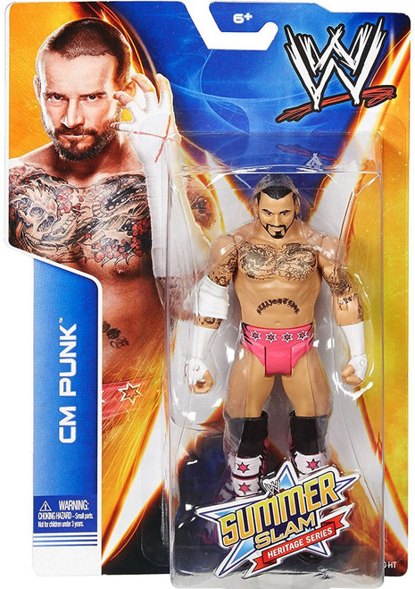 WWE Wrestling Summer Slam Heritage Series CM Punk Action Figure
