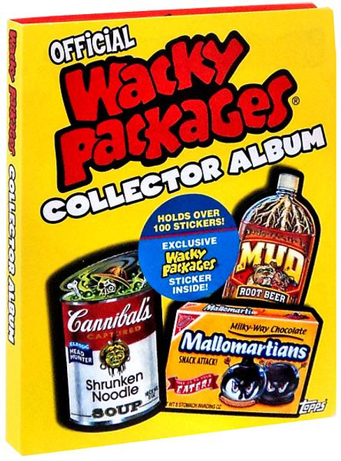 Topps Wacky Packages Collector Album