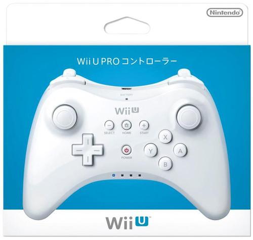 Nintendo Wii U Pro Controller [White]