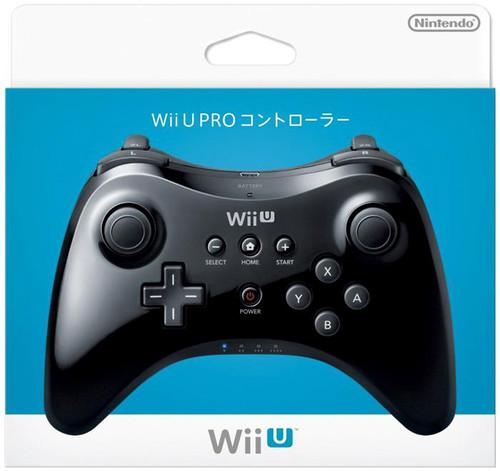 Nintendo Wii U Pro Controller [Black]