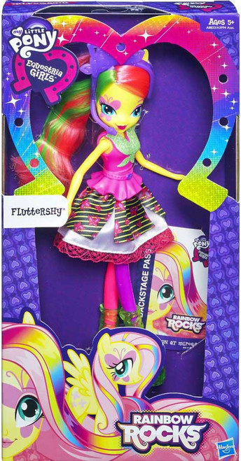 My Little Pony Equestria Girls Rainbow Rocks Basic Fluttershy 9-Inch Doll [Version 2]
