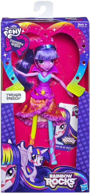 My Little Pony Equestria Girls Rainbow Rocks Basic Twilight Sparkle 9-Inch Doll [Version 2]