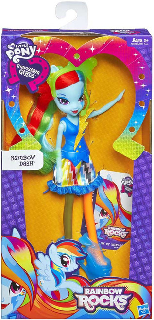 My Little Pony Equestria Girls Rainbow Rocks Basic Rainbow Dash 9-Inch Doll [Version 2]