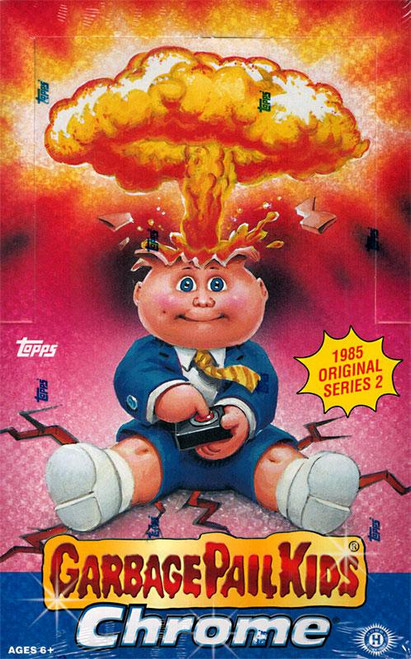 Garbage Pail Kids Topps 2014 Chrome Trading Card HOBBY Box [24 Packs]