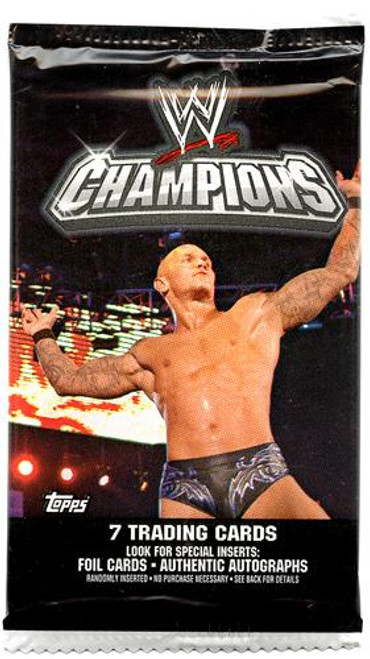 WWE Wrestling Topps 2011 Champions Trading Card Pack [7 Cards!]