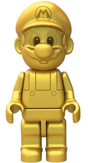 K'NEX Super Mario Gold Mario 2-Inch Minifigure [Loose]