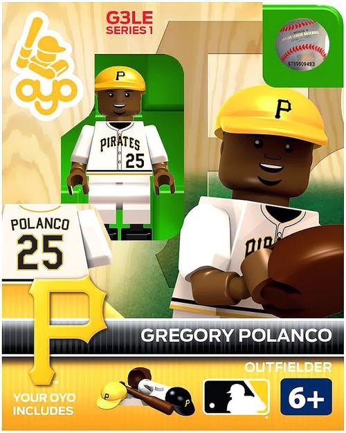 Pittsburgh Pirates MLB Generation 3 Gregory Polanco Minifigure