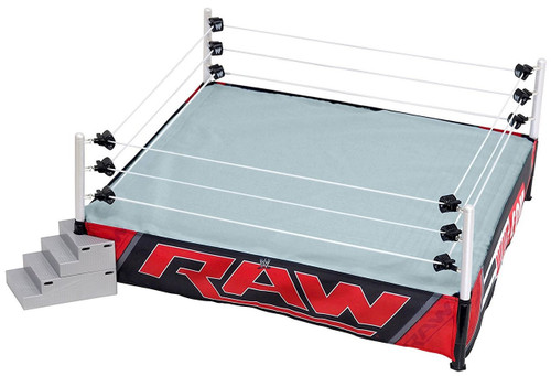 WWE Wrestling Authentic Scale Ring Action Figure Playset [Raw Edition]