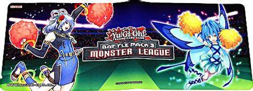 YuGiOh Battle Pack 3 Monster League Freya & Fairy Cheer Girl Play Mat