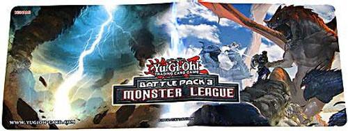 YuGiOh Battle Pack 3 Monster League Typhoon & Unbreakable Spirit Play Mat