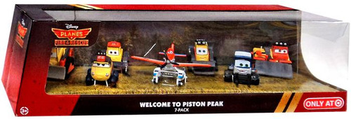 Disney Planes Fire & Rescue Welcome to Piston Peak Exclusive Diecast Vehicle 7-Pack