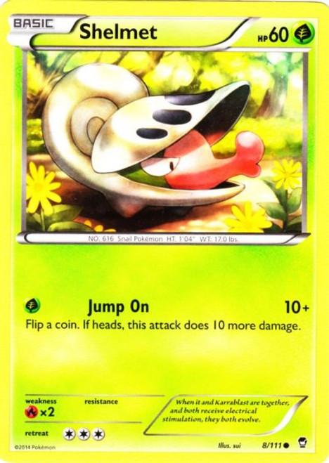 Pokemon X & Y Furious Fists Common Shelmet #8