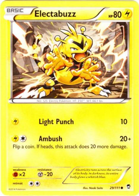 Pokemon X & Y Furious Fists Common Electabuzz #29