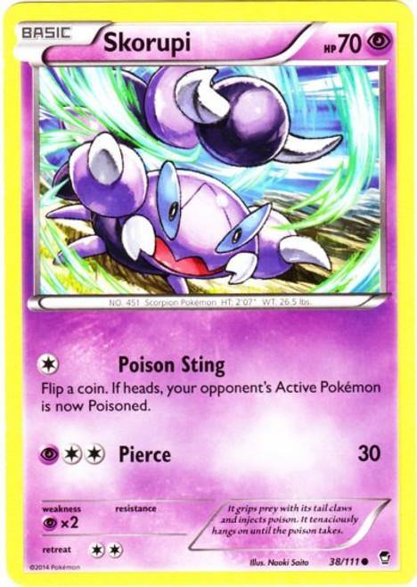 Pokemon X & Y Furious Fists Common Skorupi #38