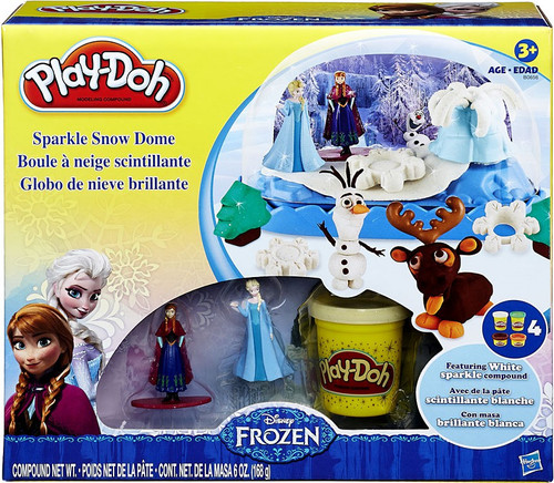 Disney Frozen Play-Doh Snow Dome Playset