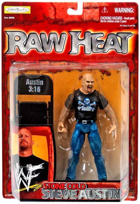 WWE Wrestling Raw Heat Stone Cold Steve Austin Action Figure