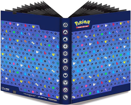 Ultra Pro Pokemon Trading Card Game Card Supplies Silhouettes 9-Pocket Binder