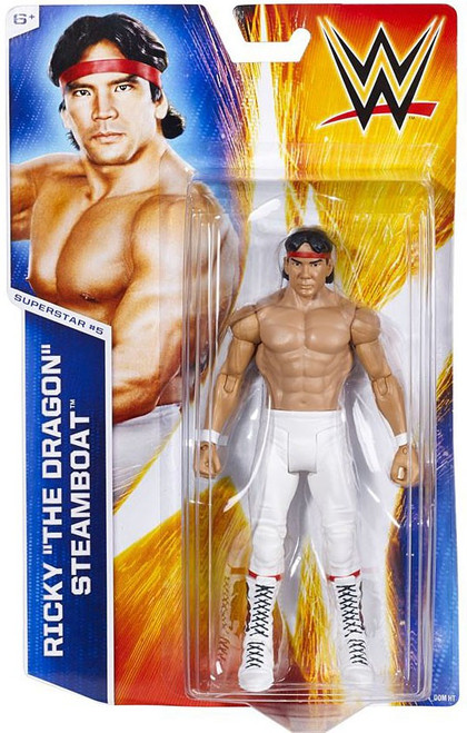 WWE Wrestling Series 45 Ricky The Dragon Steamboat Action Figure #5