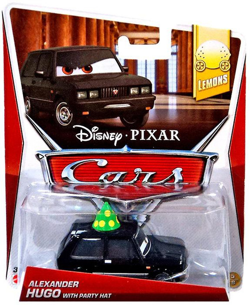 Disney / Pixar Cars Mainline Alexander Hugo with Party Hat Diecast Car #5 of 9