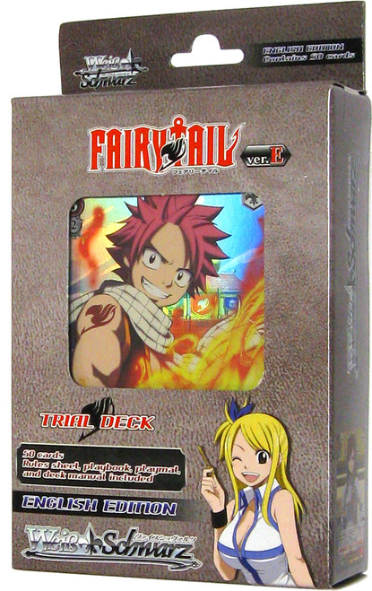 Weiss Schwarz Fairy Tail Ver.E Trial Deck