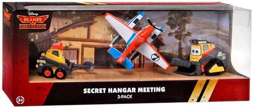 Disney Planes Fire & Rescue Secret Hangar Meeting Exclusive Diecast Vehicle 3-Pack