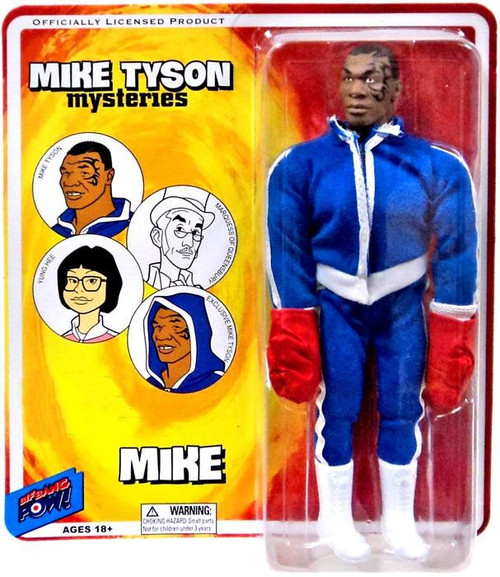 Mike Tyson Mysteries Mike Tyson Exclusive Action Figure [With Gloves]