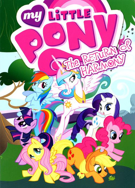 My Little Pony The Return of Harmony Parts 1 & 2 Comic Book