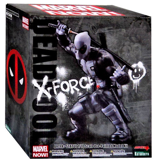 ArtFX Marvel Now Deadpool Exclusive Statue [X-Force Variant]