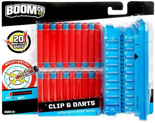 BOOMco Clip & Darts Roleplay Toy [20 Darts & 1 Clip]