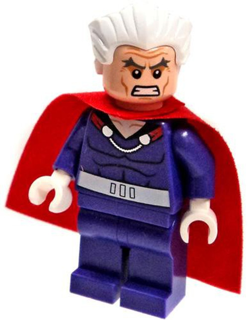 LEGO Marvel Super Heroes Magneto Minifigure [No Helmet Loose]