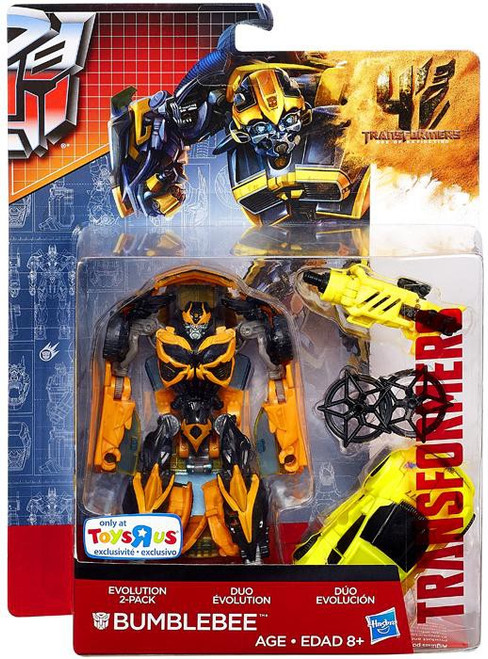 Transformers Age of Extinction Duo Evolution Bumblebee Exclusive Action Figure 2-Pack
