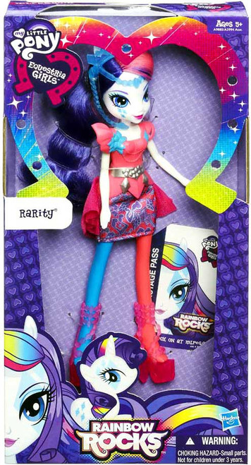 My Little Pony Equestria Girls Rainbow Rocks Basic Rarity 9-Inch Doll [Version 2]