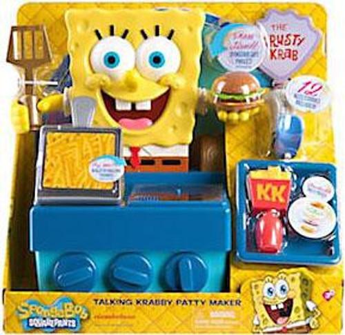 Spongebob Squarepants Talking Krabby Patty Maker Playset
