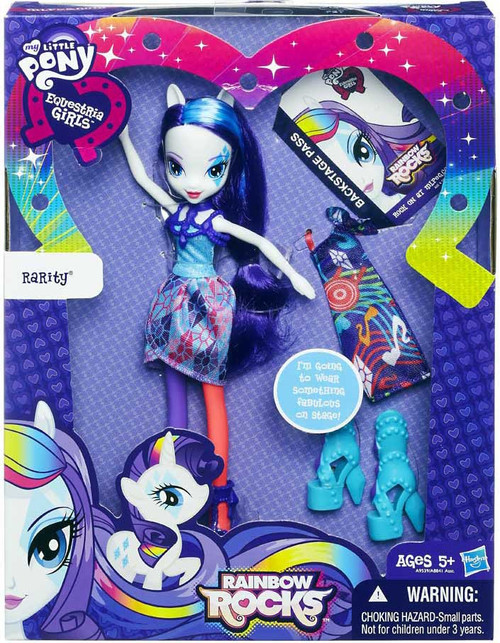 My Little Pony Equestria Girls Rainbow Rocks Rarity 9-Inch Doll