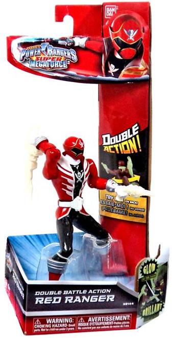 Power Rangers Super Megaforce Red Ranger Action Figure [Double Battle Action]