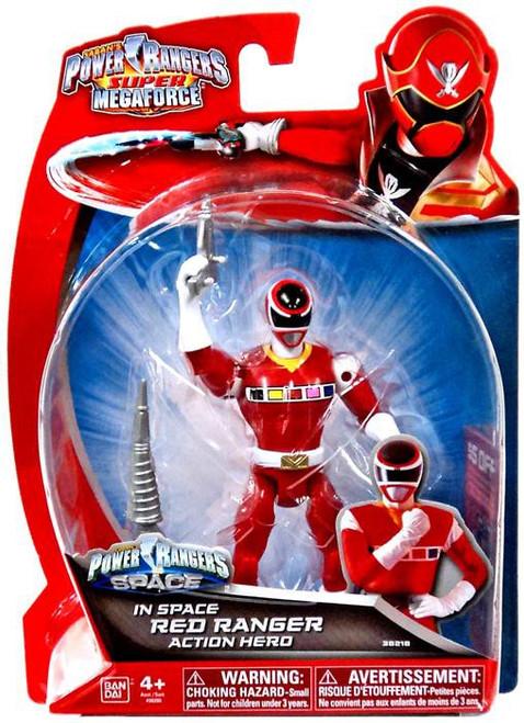 Power Rangers Super Megaforce Red Ranger Action Figure [In Space]