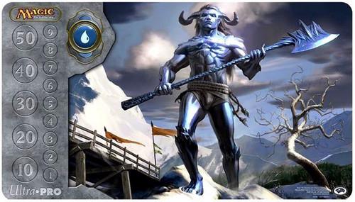 Ultra Pro MtG Card Supplies Blue Mana Frost Titan Play Mat