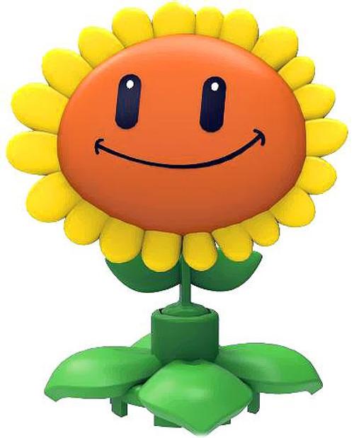 K'NEX Plants vs. Zombies Series 1 Sunflower 2-Inch Minifigure [Loose]