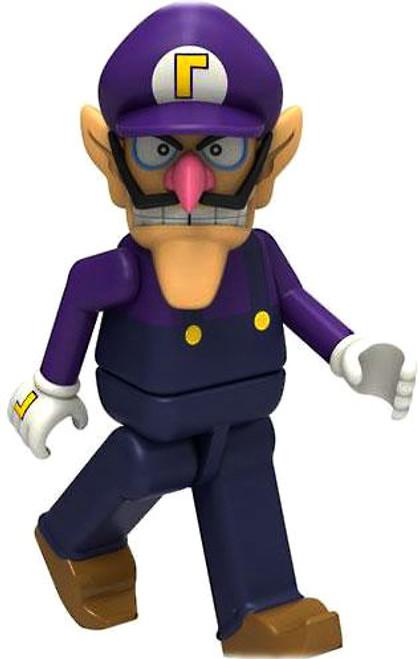K'NEX Super Mario Wii Waluigi 2-Inch Minifigure [Loose]