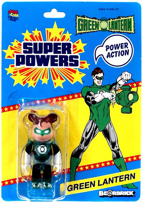 DC Super Powers Bearbrick Green Lantern Be@rbrick Exclusive Minifigure