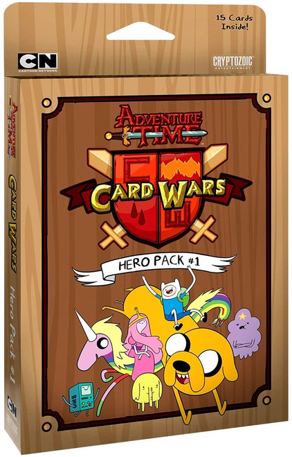 Adventure Time Card Wars Hero Pack 1 Booster Pack