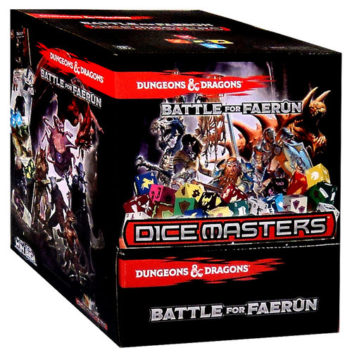 Dice Masters Dungeons & Dragons Gravity Feed Booster Box