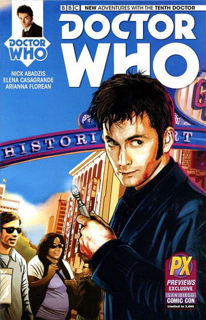 Doctor Who #01 The Tenth Doctor Exclusive Comic Book
