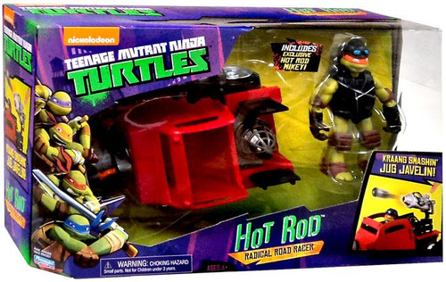 Teenage Mutant Ninja Turtles Nickelodeon Hot Rod Action Figure Vehicle