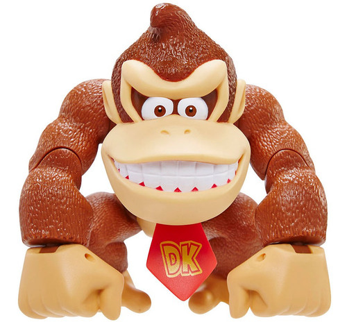 World of Nintendo Donkey Kong Country Tropical Freeze Donkey Kong Deluxe Action Figure